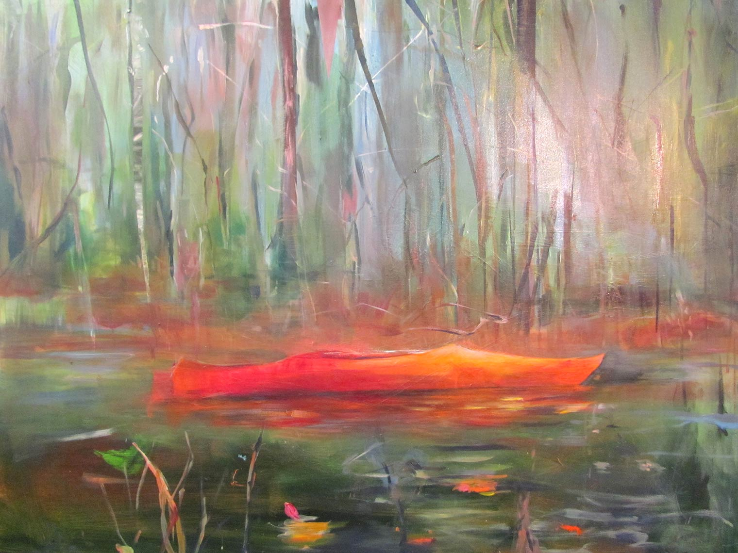 Canoe--2016-Acrylic-on-Canvas-38x48-inches