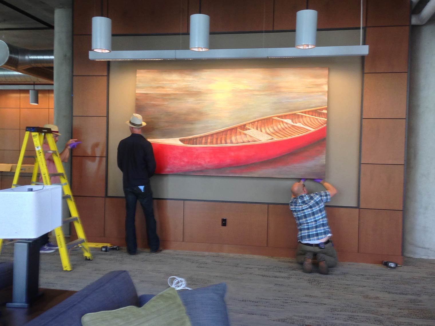 Installation-Waltons-Journey-2015-Waltons-Loft-Belltown-Seattle-WA-60x108-