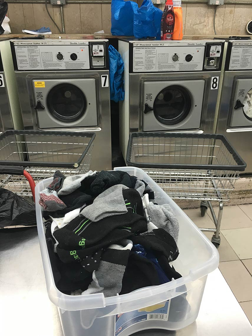 Laundromat-Lost-Sock-bin-Contribution-to-Oneness-Project-2016-Governors-Island-NY-