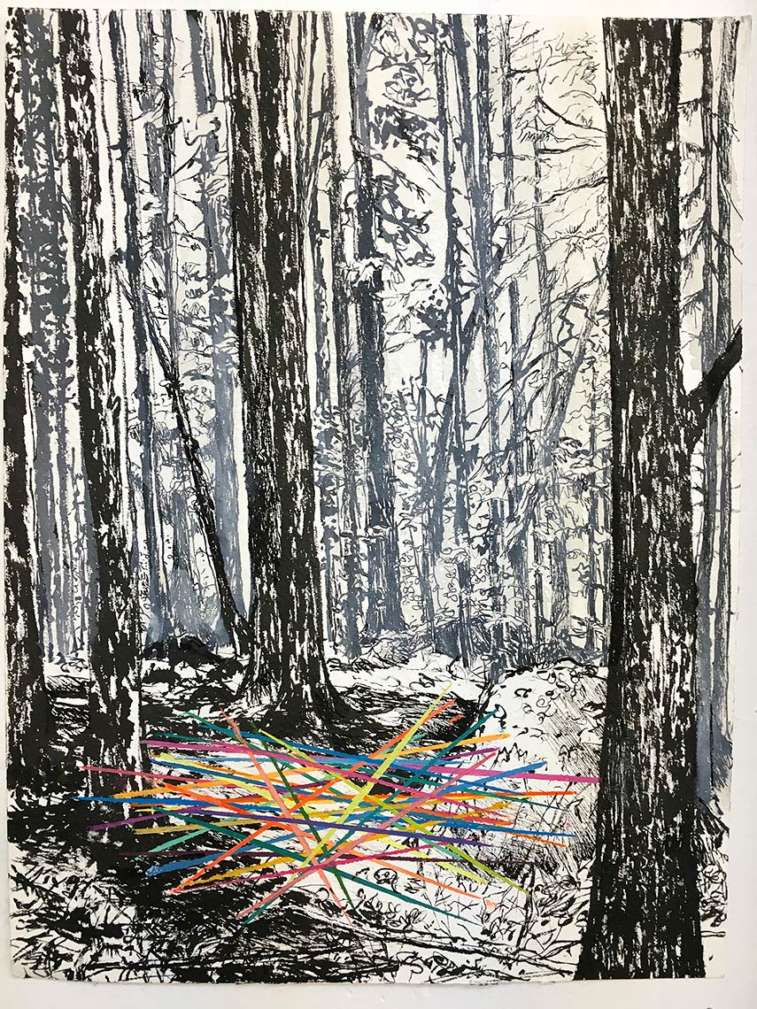 Pick-Up-Sticks-ink-on-archival-paper-17-x-13-